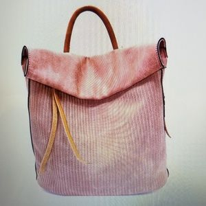Handbags - Faux leather backpack..new with tags